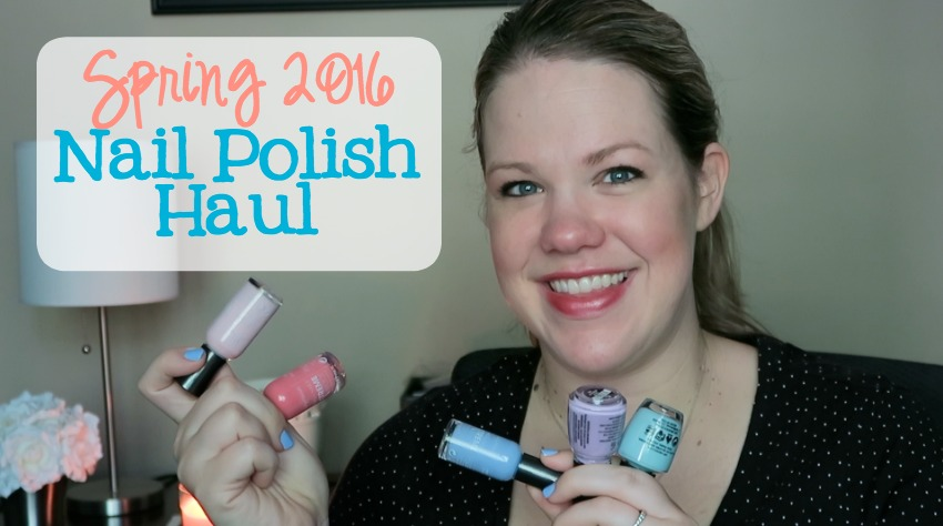 Spring Nail Polish Haul