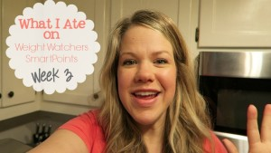 What I Ate on Weight Watchers SmartPoints Week 3