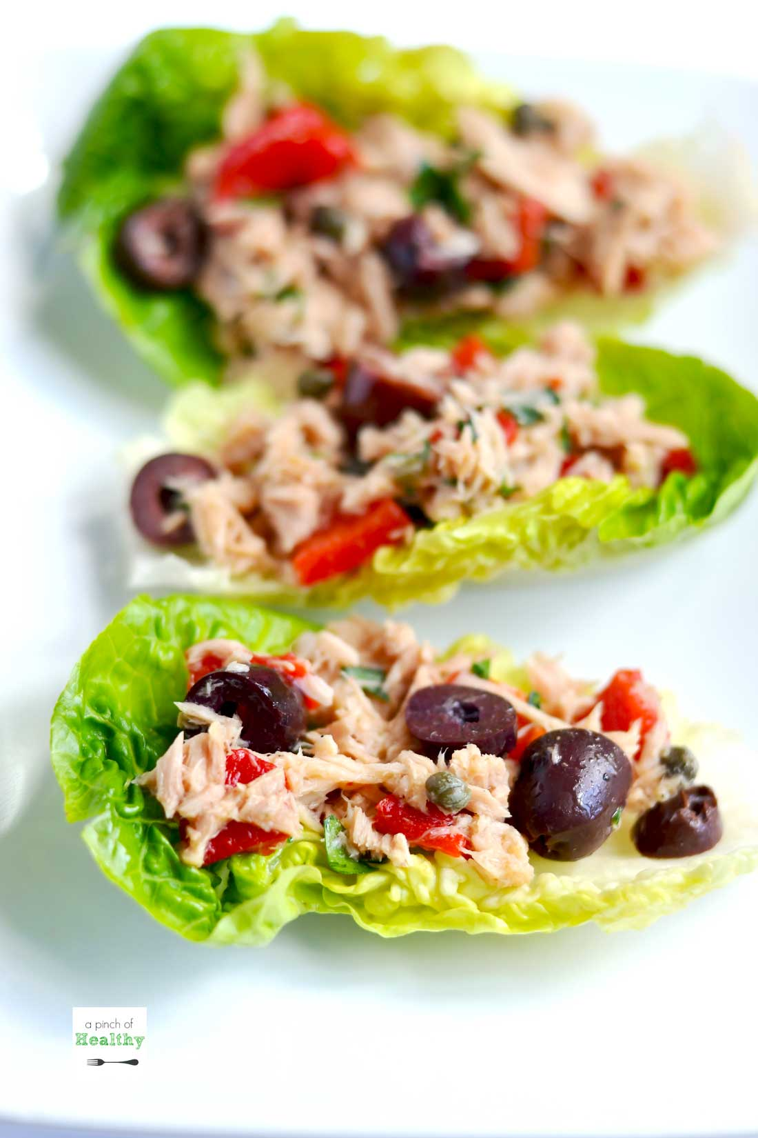 Mediterranean Tuna Salad A Pinch Of Healthy