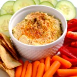 Classic Hummus - a delicious and easy snack or appetizer | APinchOfHeathy.com