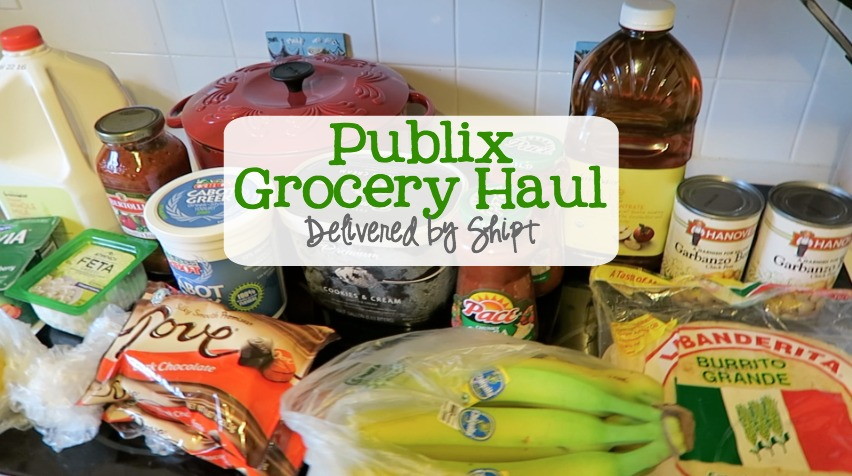 Publix Grocery Haul   Delivered by Shipt