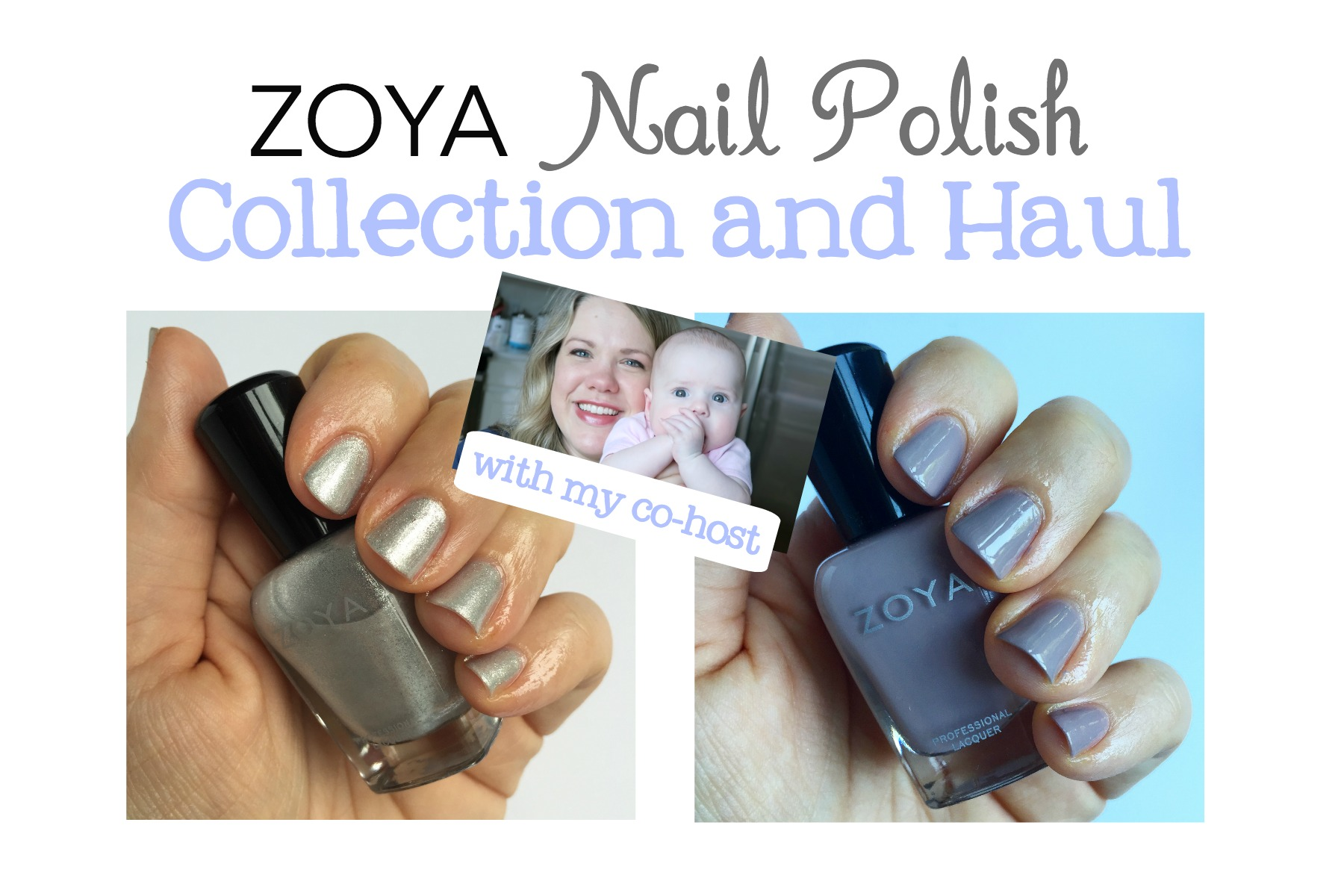 Zoya Nail Polish Collection and Haul - A Pinch of Healthy
