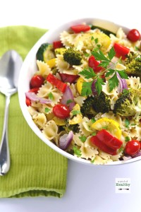Italian Pasta Salad | A Pinch of Heathy