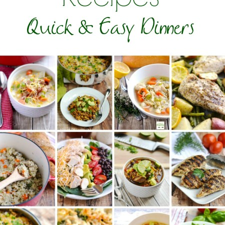 Best Chicken Recipes - quick and easy dinner ideas, perfect for family weeknight dinners!   APinchOfHealthy.com