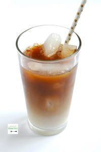 How to make cold brew coffee in a French Press - easy, delicious and just like the iced coffee from the coffee shop. | APinchOfHealthy.com