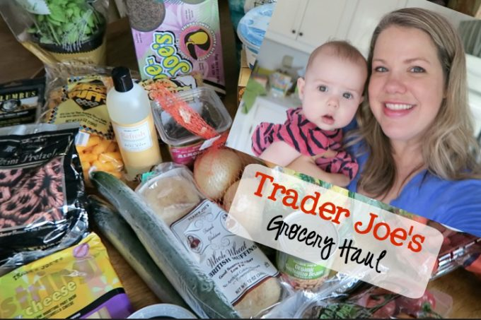 Trader Joes Grocery Haul 8.15.16