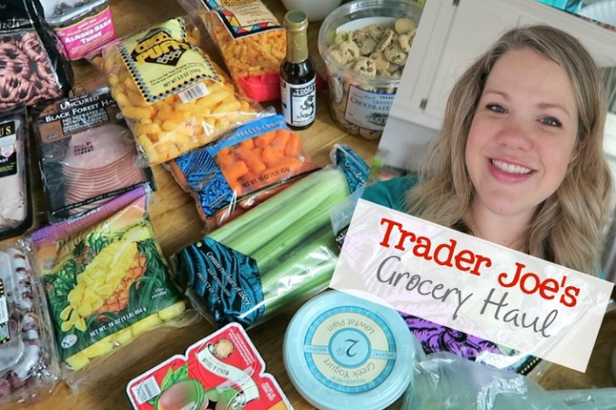 Trader Joe's Grocery Haul Mid August 2016