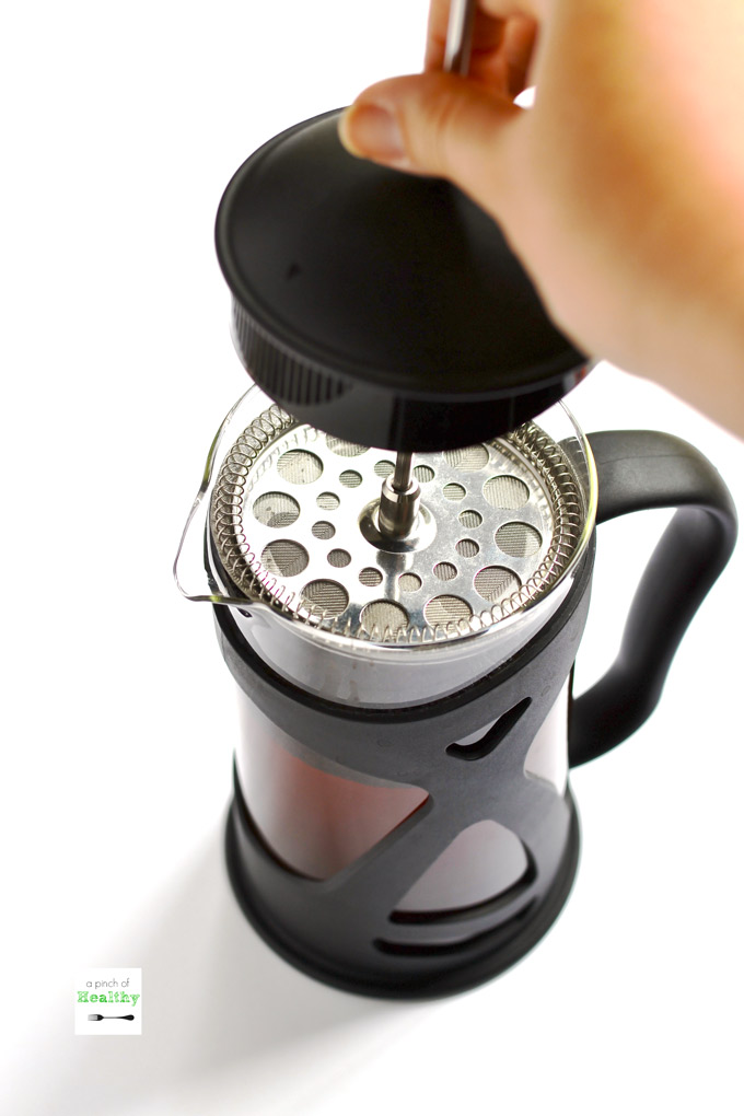 cc2b7f4eb83 How to Make Cold Brew Coffee in a French Press - A Pinch of Healthy