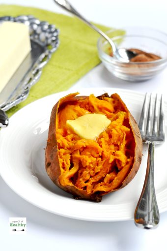 "When I show you how I make ""baked"" sweet potatoes in the instant pot/ pressure cooker, you make never make them any other way again. They are so easy and delicious! 