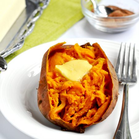 """When I show you how I make """"baked"""" sweet potatoes in the instant pot/ pressure cooker, you make never make them any other way again. They are so easy and delicious! 
