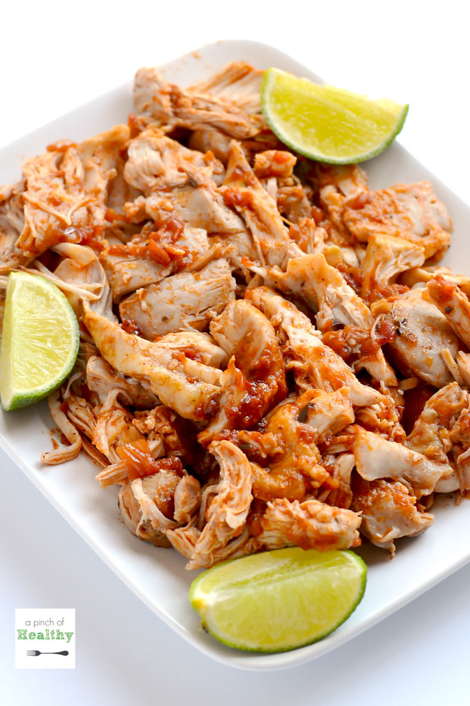 Mexican shredded chicken instant pot slow cooker or stovetop a mexican shredded chicken is so delicious versatile and easy and here are three ways forumfinder Choice Image