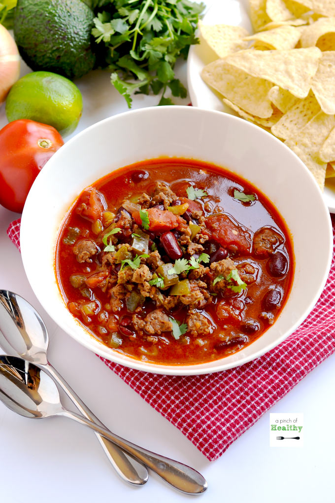 Classic Beef Chili   Instant Pot, Slow Cooker or Stovetop