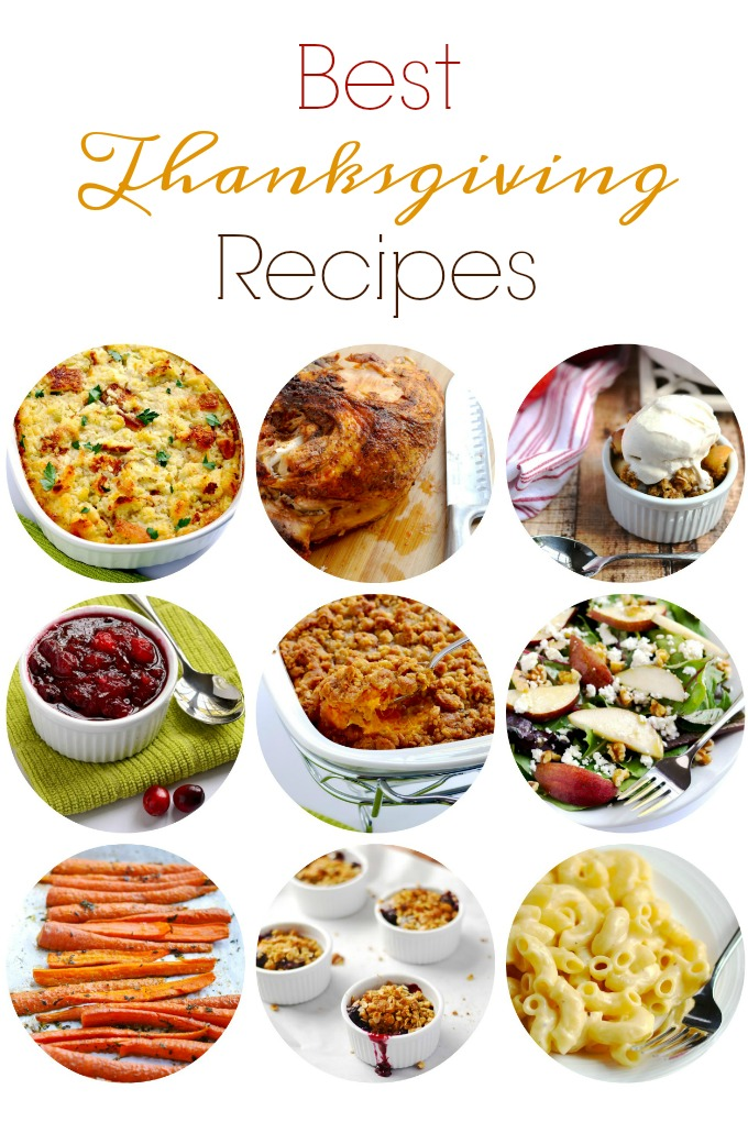 My all time best Thanksgiving recipes. From my family's kitchen to yours. Simply delicious!
