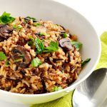 Instant Pot wild rice pilaf is a simple and delicious side dish you are going to love! | APinchOfHealthy.com