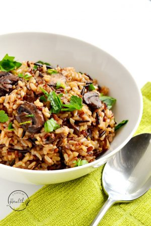 Instant Pot Wild Rice Pilaf (Vegan)