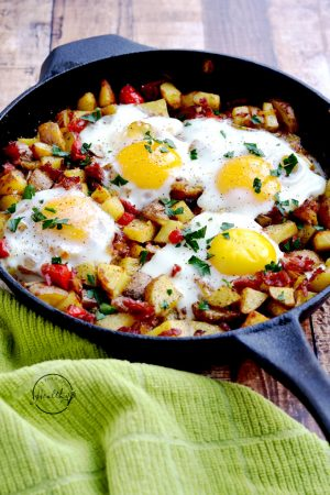 Irish Corned Beef Hash (Great for St. Patrick's Day!)