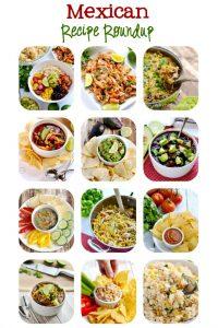 Mexican Recipe Roundup for Cinco De Mayo   APinchOfHealthy.com