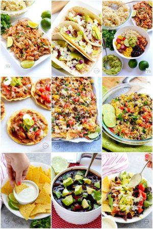 Mexican Recipe Roundup (Happy Cinco De Mayo!)