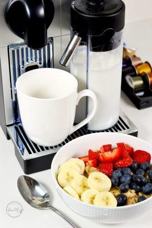 Cappuccino, Espresso and Lattes on Demand (De'Longhi Lattissima Pro)