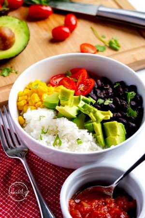 Vegan Burrito Bowls (Meatless Meal Idea)