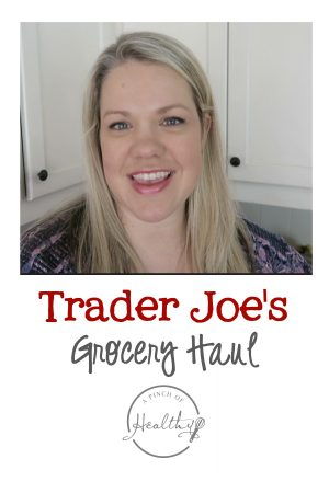 Trader Joe's Grocery Haul - here is what we bought from Trader Joe's this week.