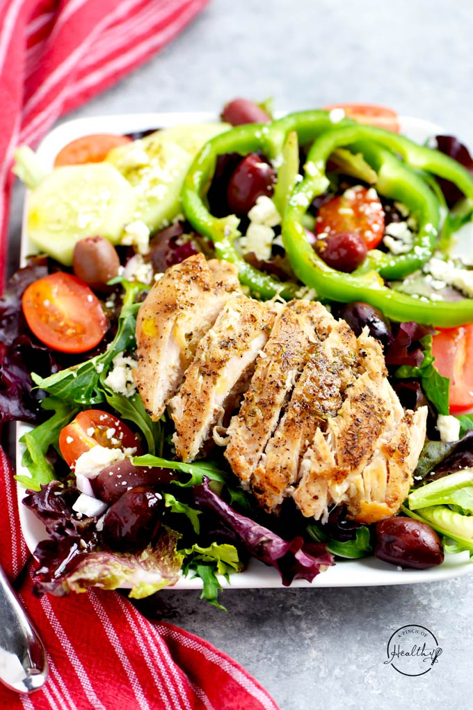 Greek Red Wine Vinaigrette made from scratch