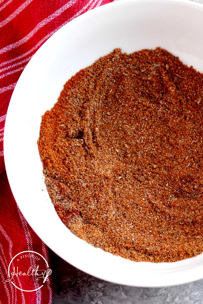 Homemade taco seasoning is such a versatile seasoning, perfect for tacos, nachos and so much more! Plus, it's easy to make from scratch with a few pantry staples. | APinchOfHealthy.com