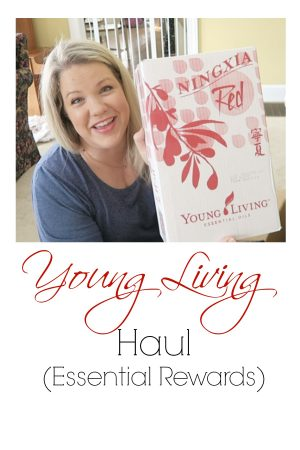 Young Living Haul - what I got in my monthly Essential Rewards box this month.
