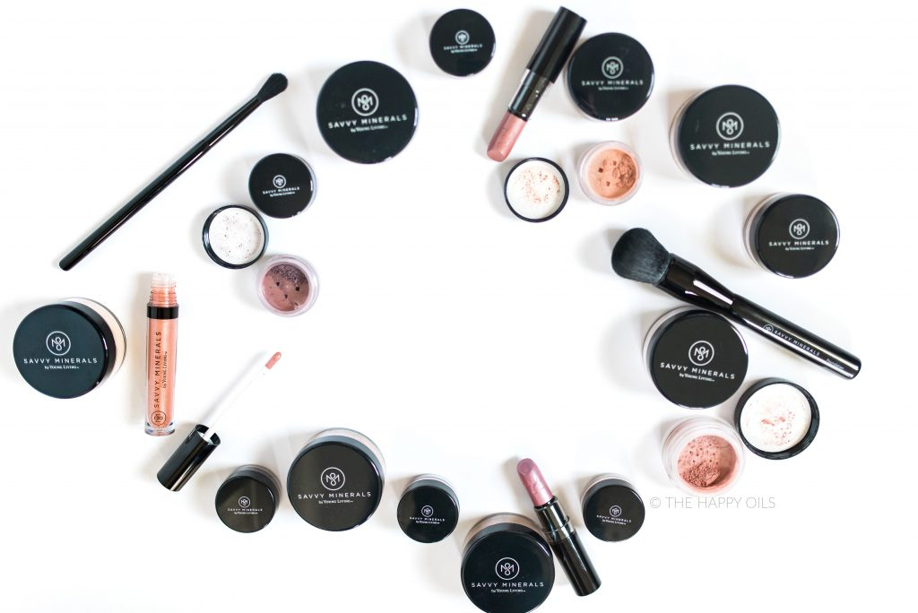 Best mineral makeup Savvy Minerals by Young Living plus video tutorial