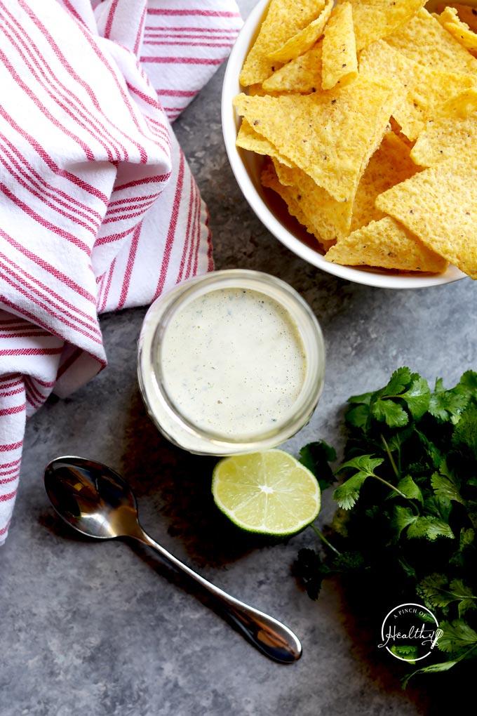 Creamy Jalapeno Copycat Chuy's recipe
