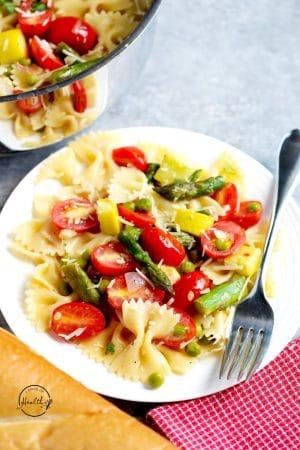 Pasta Primavera (quick recipe)