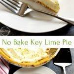 Easy key lime pie (no bake)