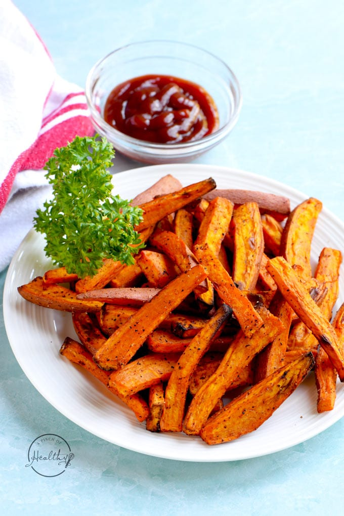 Air Fryer Sweet Potato Fries Tips For Cutting And Seasoning A Pinch Of Healthy