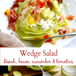 Wedge Salad Recipe with ranch