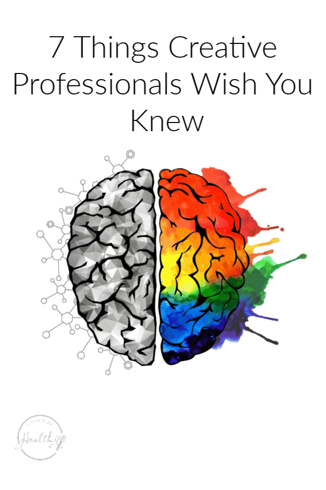 7 things creative professionals wish you knew