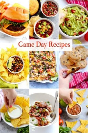 19 Game Day Recipes
