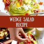 Wedge Salad Recipe Pin